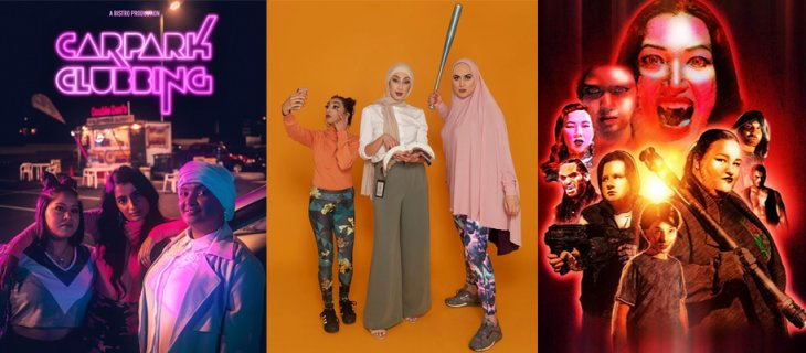Digital First Comedy Initiative's web series Carpark Clubbing, Halal Gurls and Nightwalkers out now